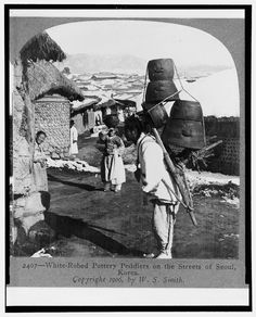 Korea in the Imperial Era and Japanese Occupation: A Door-to-Door Pottery Seller