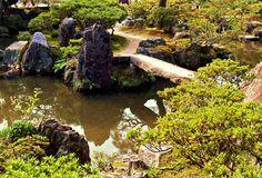 Japanese Courtyard Garden Rock Garden Design Water, Koi Pond ..., 952x648 in 169.6KB
