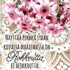 voima9 Enneagram 2, Good Thoughts, Life Is Beautiful, Positive Vibes, Affirmations, Qoutes, Diy And Crafts, Poems, Positivity