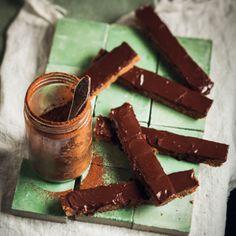 Taste Mag   Chocolate ProNutro squares @ http://taste.co.za/recipes/chocolate-pronutro-squares/