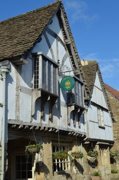 At The Sign Of The Angel pub, Lacock
