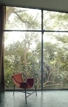 window, light, chair