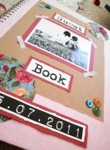 My guest book will def be a do it yourself.