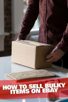 How to Sell Bulky Items on eBay  | Moving house is the perfect time to clear out large, heavy and unusually shaped items - and make some much-needed cash!