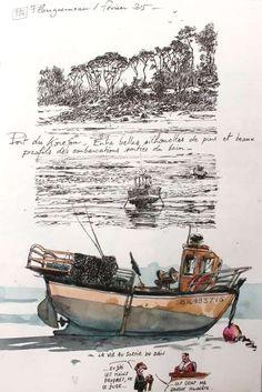 Une Bretagne par les Contours/ Plouguerneau de Yann LESACHER