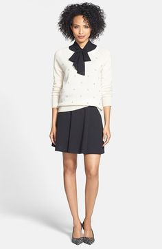 Halogen® Cashmere Sweater, Sleeveless Top & Ponte Skirt  available at #Nordstrom