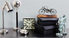 Os complementos decorativos podem valorizar o ambiente de um modo único e autêntico.
