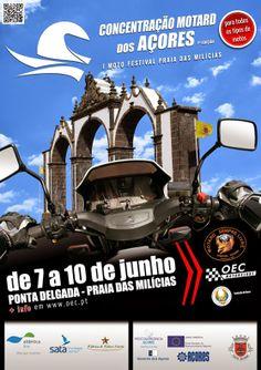 3ª Concentração Motard dos Açores de 7 a 10 de Junho em São Miguel