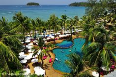 Kata Beach Resort and Spa offers views of Kata Bay and Crab Island. An evergreen environment adds enchantment to this comfortable resort.