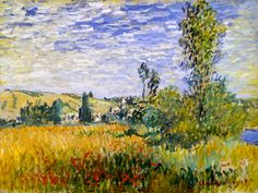 Claude Monet - Vetheuil, 1880 at the Kelvingrove Art Gallery and Museum Glasgow Scotland | por mbell1975