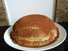 Zuccotto, a különleges formájú torta, varázslatos krémmel. Csodálatos sütemény és nagyon fincsi!