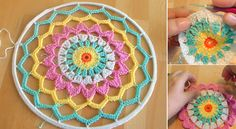 How-To-Crochet-Dreamcatcher