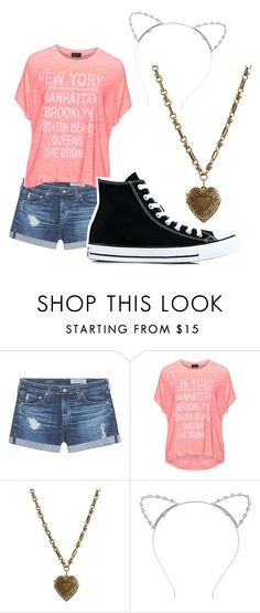 """""""Dominique Weasley"""" by dellalea ❤ liked on Polyvore featuring AG Adriano Goldschmied, Replace, Etro, Lipsy and Converse"""