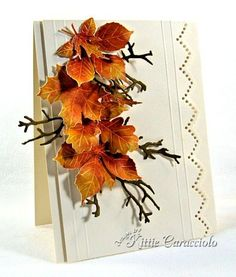 Leaves and Branches by kittie747 - Cards and Paper Crafts at Splitcoaststampers