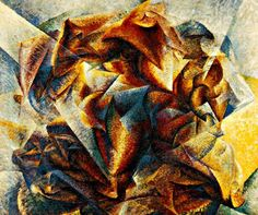 Umberto Boccioni (Italian, 1882-1916), Dynamism of a Soccer Player, 1913. Oil on canvas, 193.2 x 201 cm.