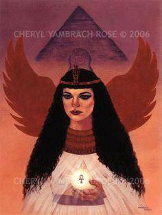 Cheryl Yambrach Rose-Hall|Neo-Mythic®/Visionary | Isis (1992)