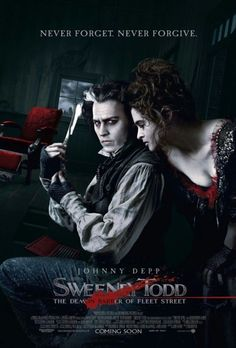 "Johnny Depp, Helena Bonham Carter and the worst pies in London guaranteeing ""the closest shave you'll ever know."""