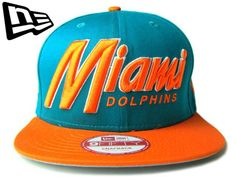 "【NEW ERA】SNAPBACK MIAMI DOLPHINS ""SNAP IT BACK"""