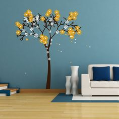 Give a touch of nature to your home wall. #homedecor #walldecal #nature #furnishturf
