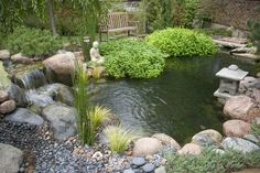 Small Water Gardens :: Hometalk I think my front pond needs a facelift. This provides the perfect inspiration. ~cmr