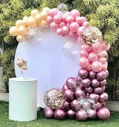 158 Best Organic Balloon Swags Images On Pinterest Balloon