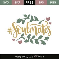 Download your free svg cut file and create your personal DIY project with these beautiful quotes or designs. Perfect for crafters. Free vectors. Silhouette Cameo Vinyl, Silhouette Projects, Silhouette Design, Free Silhouette, Cricut Monogram, Free Stencils, Cricut Explore Air, Word Design, Free Svg Cut Files