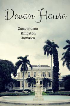 La casa museo del primer millonario negro de Jamaica Devon House, Kingston Jamaica, Movie Posters, Caribbean, Museums, Black, Film Poster, Popcorn Posters, Film Posters