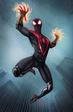 PS5 SpiderMan Miles Morales by LucianoVecchio on DeviantArt
