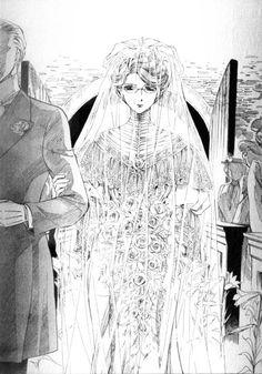 Emma in her wedding dress from Emma- A Victorian Romance. I admit it; I cried!