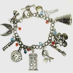 Whovian Charm Bracelet - Trendy Gear--accessories