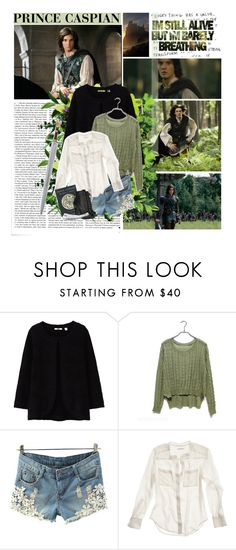 o1 - Prince Caspian (The Chronicles of Narnia) by lejournaldessecrets on Polyvore featuring Madewell, Uniqlo, Miu Miu, Victoria Beckham, Narnia, cslewis, princecaspian, kingcaspian and caspian