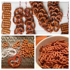 pretzel necklace designs for beer tasting!