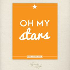 "Oh, my stars!  This is a phrase we, Southerners, say when we are astonished.  For example, your cousin, Betty Lou, who you haven't seen in ages, rings your door bell. Upon seeing her, you might exclaim, ""Oh, my stars!"" So, it's usually a good thing!  giggles ~ dwb"