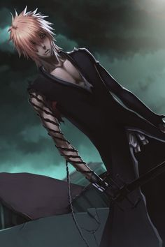 ✭ Kurosaki Ichigo, Bleach - I like Ichigo with long hair