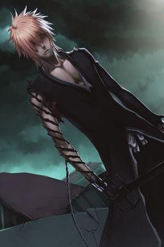 ✭ Kurosaki Ichigo, Bleach - I like Ichigo with long hair