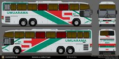 MGBus desenhos: Umuarama 9914 Onibus Marcopolo, Buses, Rio, Paper, Design, Cardboard Car, Drawings, Paper Envelopes, Miniature