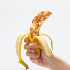 Receita de Crumble de coco e banana  Tão simples como descascar uma banana