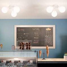 It's summertime... It's ice cream time. #kundalini #kundalinilighting  #light #lighting #illuminazione #lampadekundalini #icecream #gelato #summertime