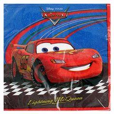 Disney Pixar Cars 2 Luncheon Napkins [16 Per Pack] #disneyweddings