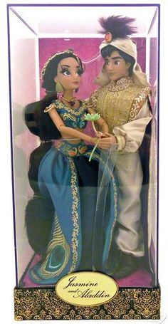Disney Fairytale Designer Collection Jasmine and Aladdin Doll