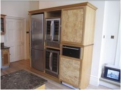 used, solid bird\'s eye maple 8 year old kitchen.     The kitchen features luxury granite worktops and top of the range appliances. It also features superb storage options including two magic corner cupboards and a standalone dresser.   £4950