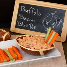 BUFFALO BACON BLUE DIP    SAVE   PRINT A protein packed dip with all the flavor of your favorite wings. Author: Brianne @ Cupcakes & Kale C...