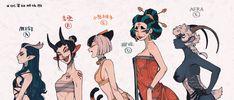 Fantasy Character Design, Character Design Inspiration, Character Concept, Character Art, Concept Art, Art And Illustration, Gato Anime, Cartoon Kunst, Cartoon Art Styles