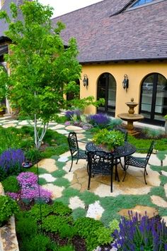 French Country Estate in Castle Pines  A beautiful outdoor living space