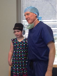 Dr. Joe and one of our precious patients!