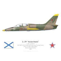 L-39C Albatros, 444 TsBP i PLS, Ostrov Air Base, Aéronavale russe, 2005 - Bravo Bravo Aviation