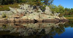 "Check out my art piece ""Rocky Reflection"" on crated.com #art #photography #rock"
