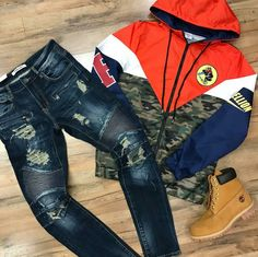 """Timberland: the """"Original Yellow Boot"""" has long been a popular American icon, the classic look has been copied by many, but never really duplicated. Dope Outfits For Guys, Swag Outfits Men, Winter Outfits Men, New Outfits, Cool Outfits, Stylish Outfits, Nba Fashion, Tomboy Fashion, Mens Fashion"""