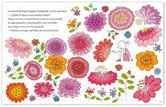 Maya and the flowers, by Laura Klamburg