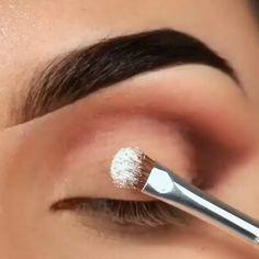 Full Glamorous Brown Eye Makeup Tutorial - Glam Eye Makeup for Brown Eyes - Pale Skin Makeup, Dramatic Eye Makeup, Smoky Eye Makeup, Eye Makeup Steps, Eye Makeup Art, Blue Eye Makeup, Makeup Eyeshadow, Asian Makeup, Korean Makeup